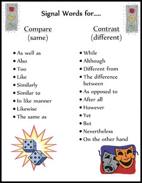 How to write a thesis compare and contrast